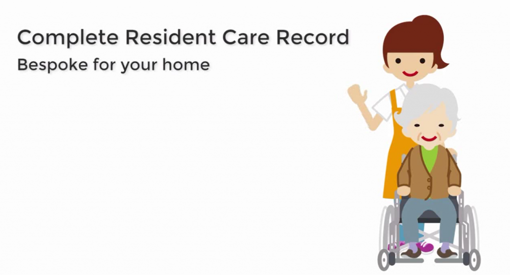 Complete resident care record MED e-care